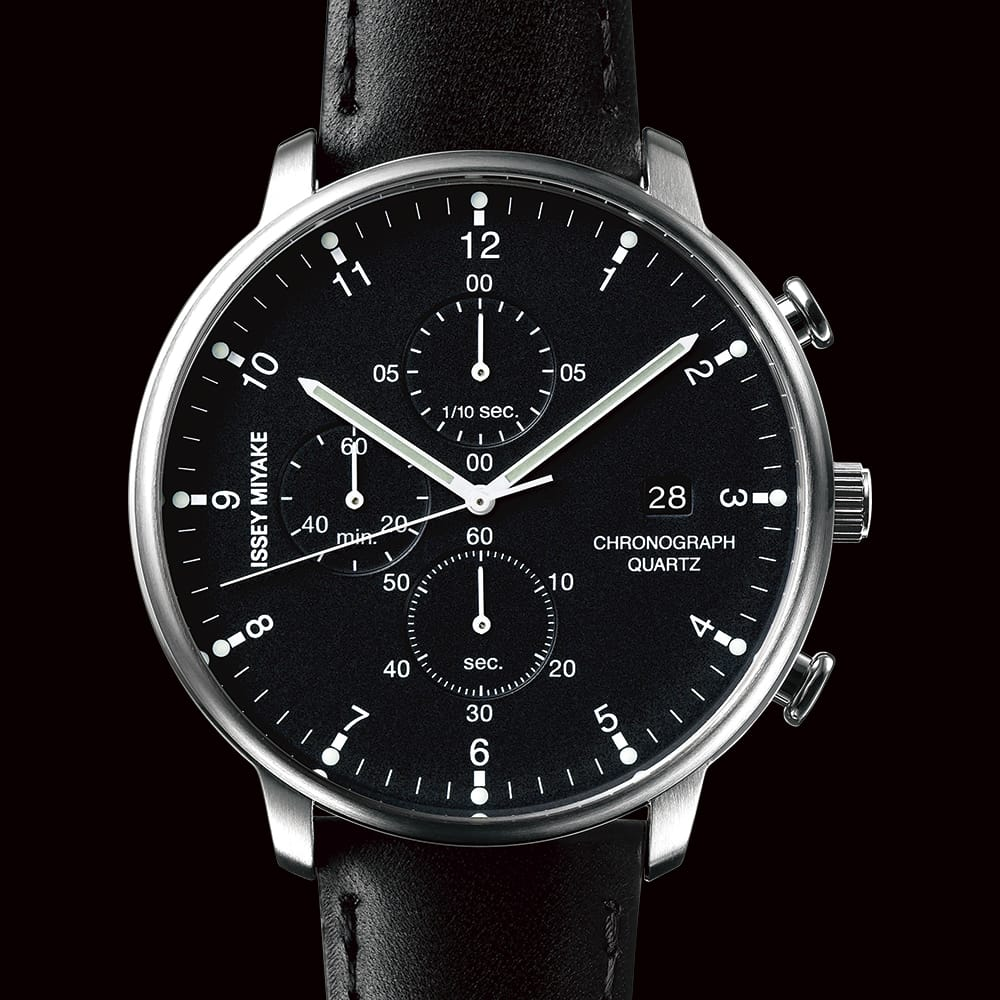 Genderless, single size.<br><span>Reflecting the stoutly framed image of the ISSEY MIYAKE brand, the collection presents moderately genderless one-size watches combined with bands of various materials and colors. The simple, light body fits and rests comfortably on any size wrist.</span>